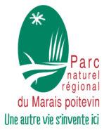Logo du Parc naturel régional du Marais poitevin, une autre vie s'invente ici