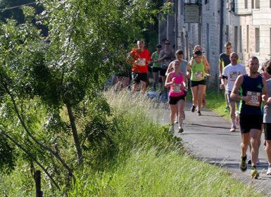 Le Maraisthon, marathon qui a lieu tous les ans au départ de Coulon dans le Marais poitevin