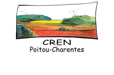 Logo du Conservatoire Régional des Espaces Naturels de Poitou-Charentes - CREN