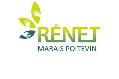 Logo du Réseau d'Education à la Nature, à l'Environnement et au Territoire Marais poitevin - RENET
