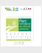 Rapport d'activités du Parc naturel régional du Marais poitevin – 2013