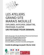 Diaporama du Comité de pilotage Ateliers paysage Grand Site marais mouillé 4 février 2016