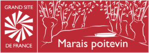 Logo Marais poitevin Grand Site de France