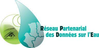 Logo RPDE Réseau Partenarial des Données sur l'Eau Poitou-Charentes Marais poitevin