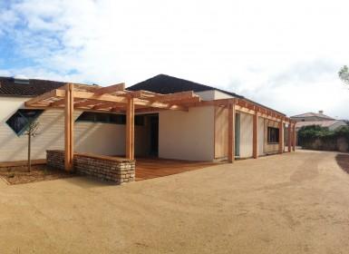Salle des fêtes de Maillé réhabilitée dans le cadre de l'Opération Grand Site