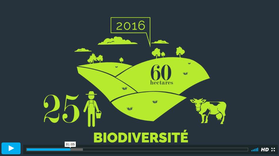 Capture d'écran extrait de la vidéo bilan actions 2016 du Parc naturel régional du Marais poitevin