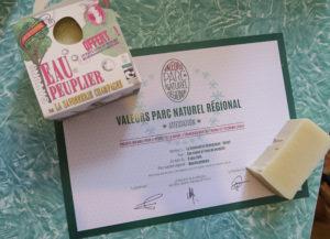 """Attestation officielle """"Valeurs Parc naturel régional"""""""
