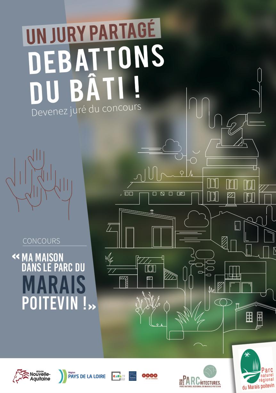 Dépliant Jury du concours Ma maison dans le Parc naturel régional du Marais poitevin