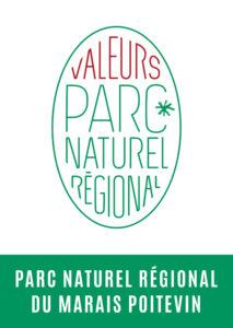 Logo Valeurs Parc naturel régional du Marais poitevin