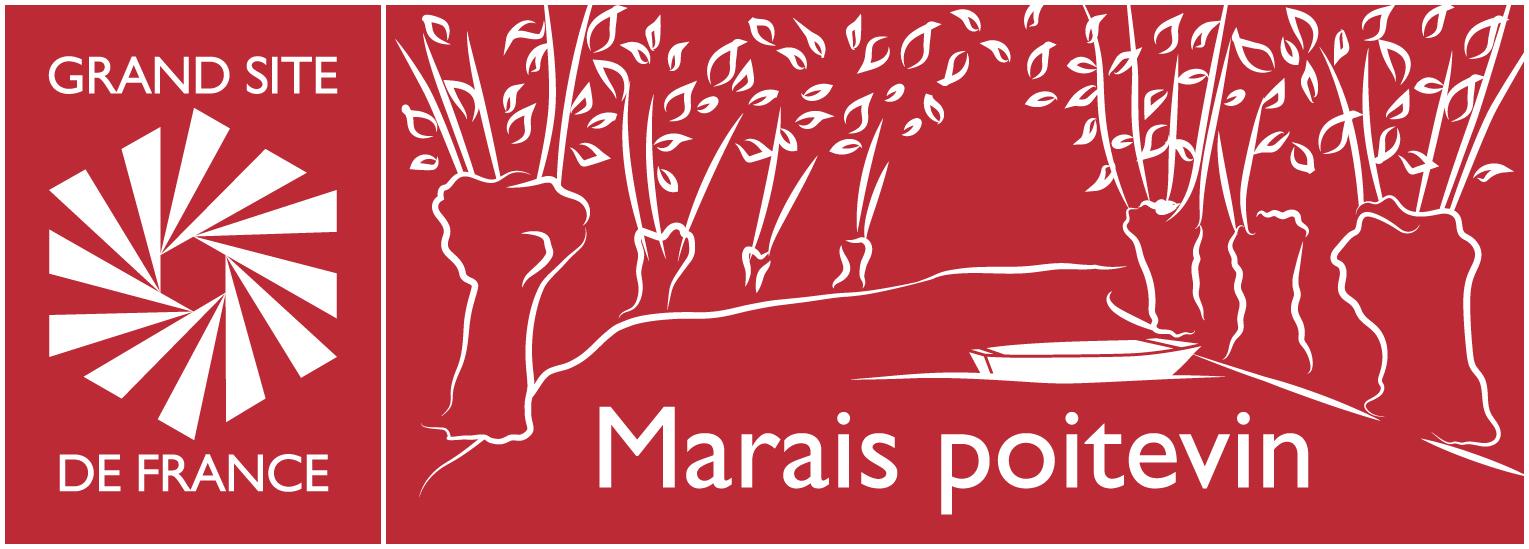 Logo Marais poitevin Grand Site de France