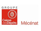 Logo Caisse des dépôts - mecenat