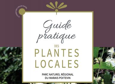Couv Guide des plantes locales - Parc naturel régional du Marais poitevin