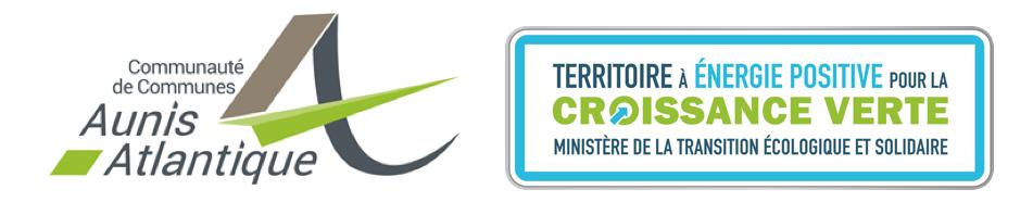 Logo com com Aunis Atlantique et TEPCV