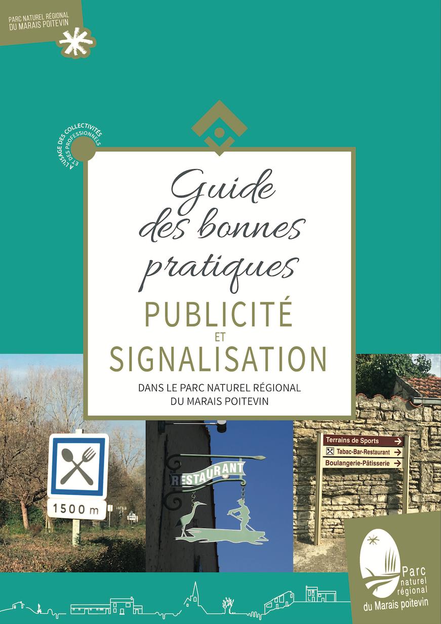Couv Guide des bonnes pratiques publicite et signaletique