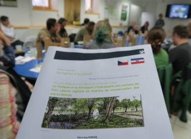 Delegations tcheque et slovaque accueillies par le Parc