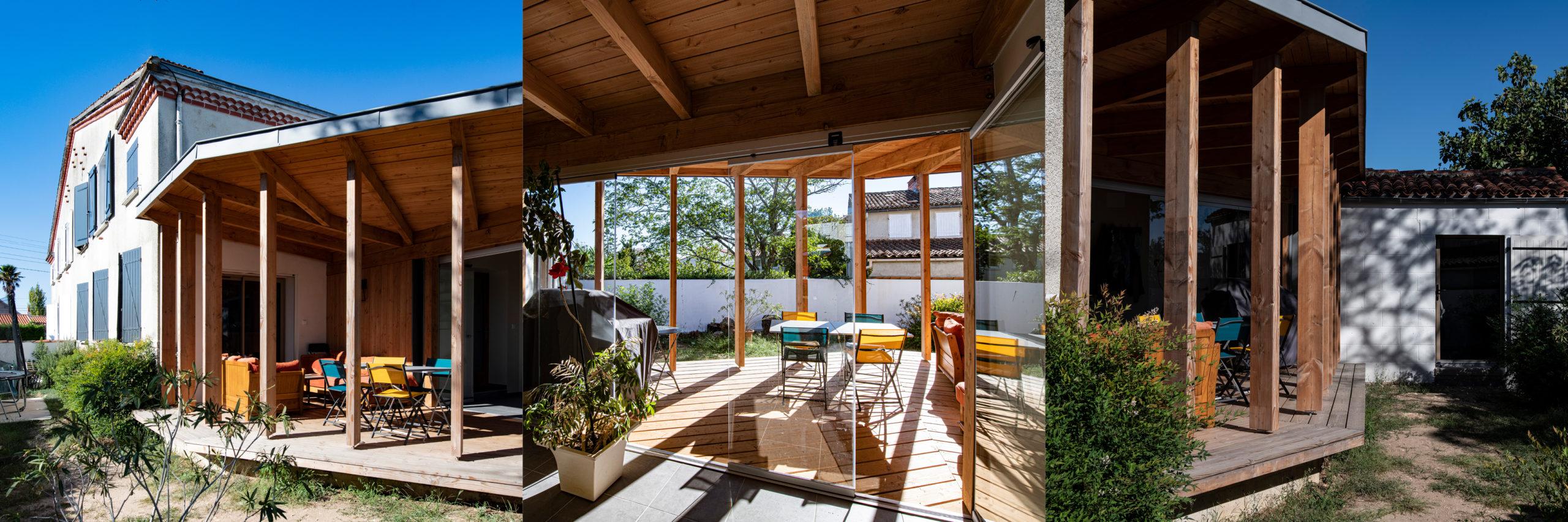 """Appel à projets """"Osez un architecte""""- Extension d'une maison à Niort - A. Contamin et K. Bioley"""