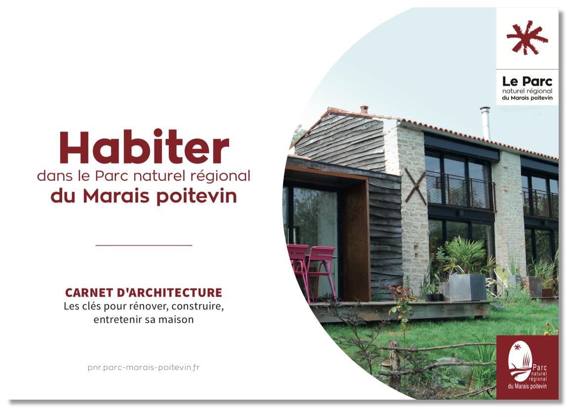 Couv Carnet Habiter dans le Parc naturel régional du Marais poitevin